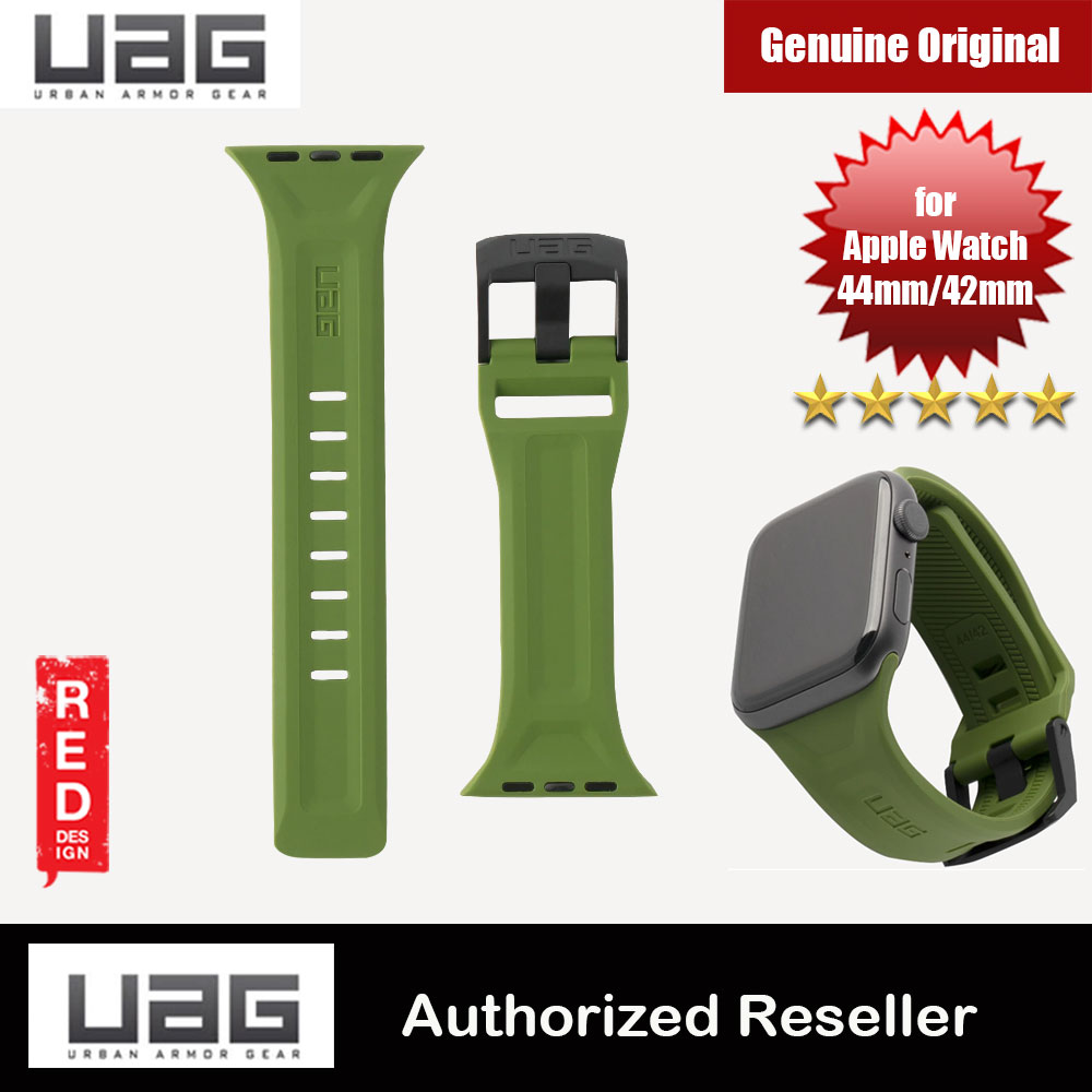 Picture of UAG Scout Silicone Watch Strap for Apple Watch 42mm 44mm Series 4 Series 5 (Olive) Apple Watch 42mm- Apple Watch 42mm Cases, Apple Watch 42mm Covers, iPad Cases and a wide selection of Apple Watch 42mm Accessories in Malaysia, Sabah, Sarawak and Singapore