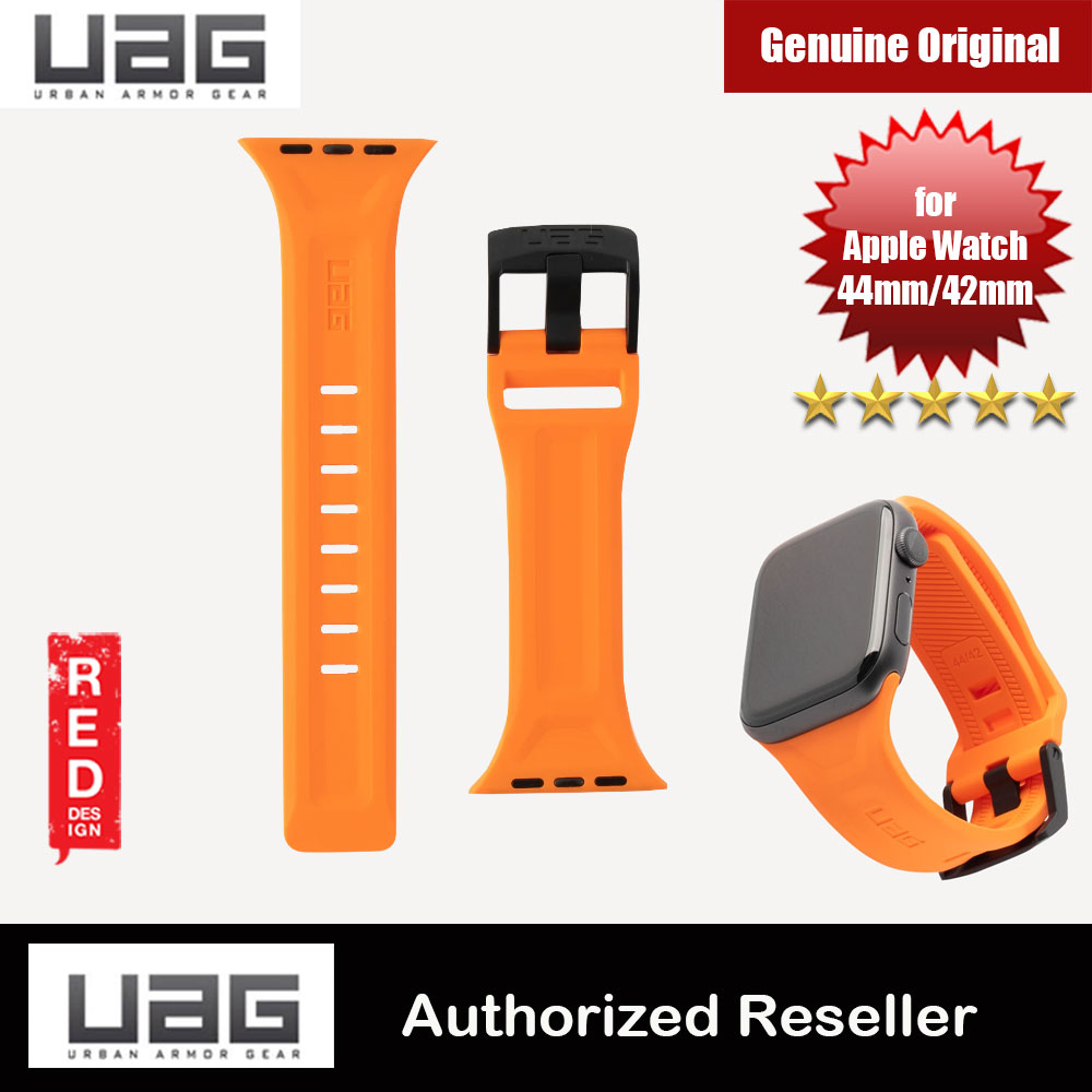 Picture of UAG Scout Silicone Watch Strap for Apple Watch 42mm 44mm Series 4 Series 5 (Orange) Apple Watch 44mm- Apple Watch 44mm Cases, Apple Watch 44mm Covers, iPad Cases and a wide selection of Apple Watch 44mm Accessories in Malaysia, Sabah, Sarawak and Singapore