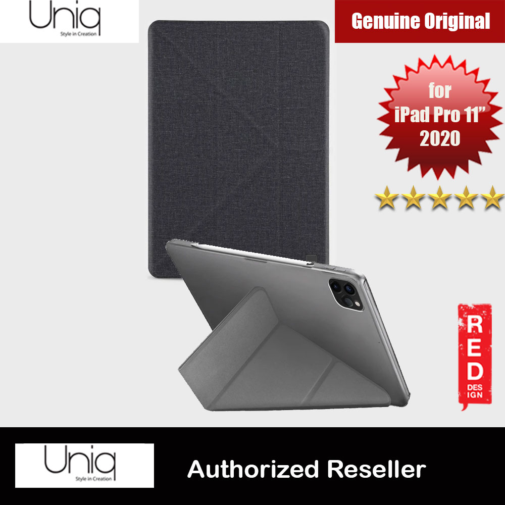 Picture of Uniq Yorker Kanvas Protection Flip and Standable Case for Apple iPad Pro 11 2nd 2020 (Black) Apple iPad Pro 11 2nd gen 2020- Apple iPad Pro 11 2nd gen 2020 Cases, Apple iPad Pro 11 2nd gen 2020 Covers, iPad Cases and a wide selection of Apple iPad Pro 11 2nd gen 2020 Accessories in Malaysia, Sabah, Sarawak and Singapore