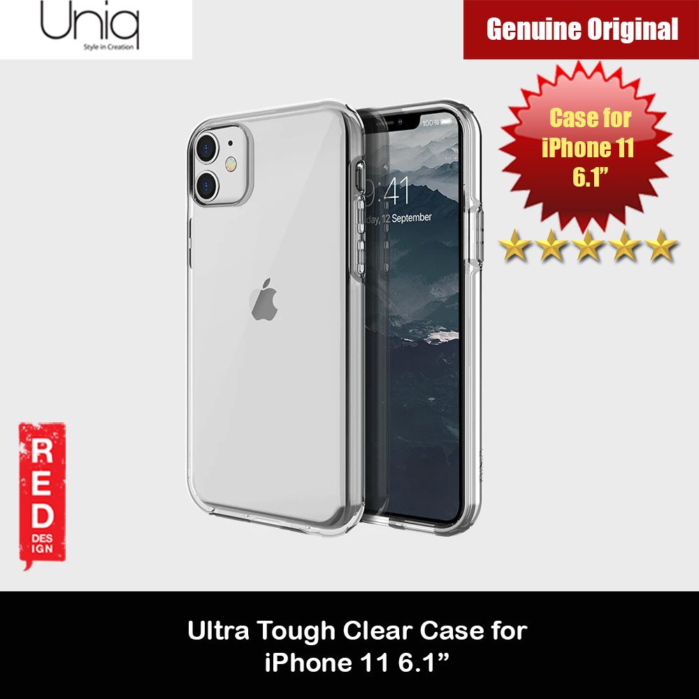 Picture of Uniq Clarion Ultra Tough Drop Protection Case for Apple iPhone 11 6.1  (Clear) Apple iPhone 11 6.1- Apple iPhone 11 6.1 Cases, Apple iPhone 11 6.1 Covers, iPad Cases and a wide selection of Apple iPhone 11 6.1 Accessories in Malaysia, Sabah, Sarawak and Singapore