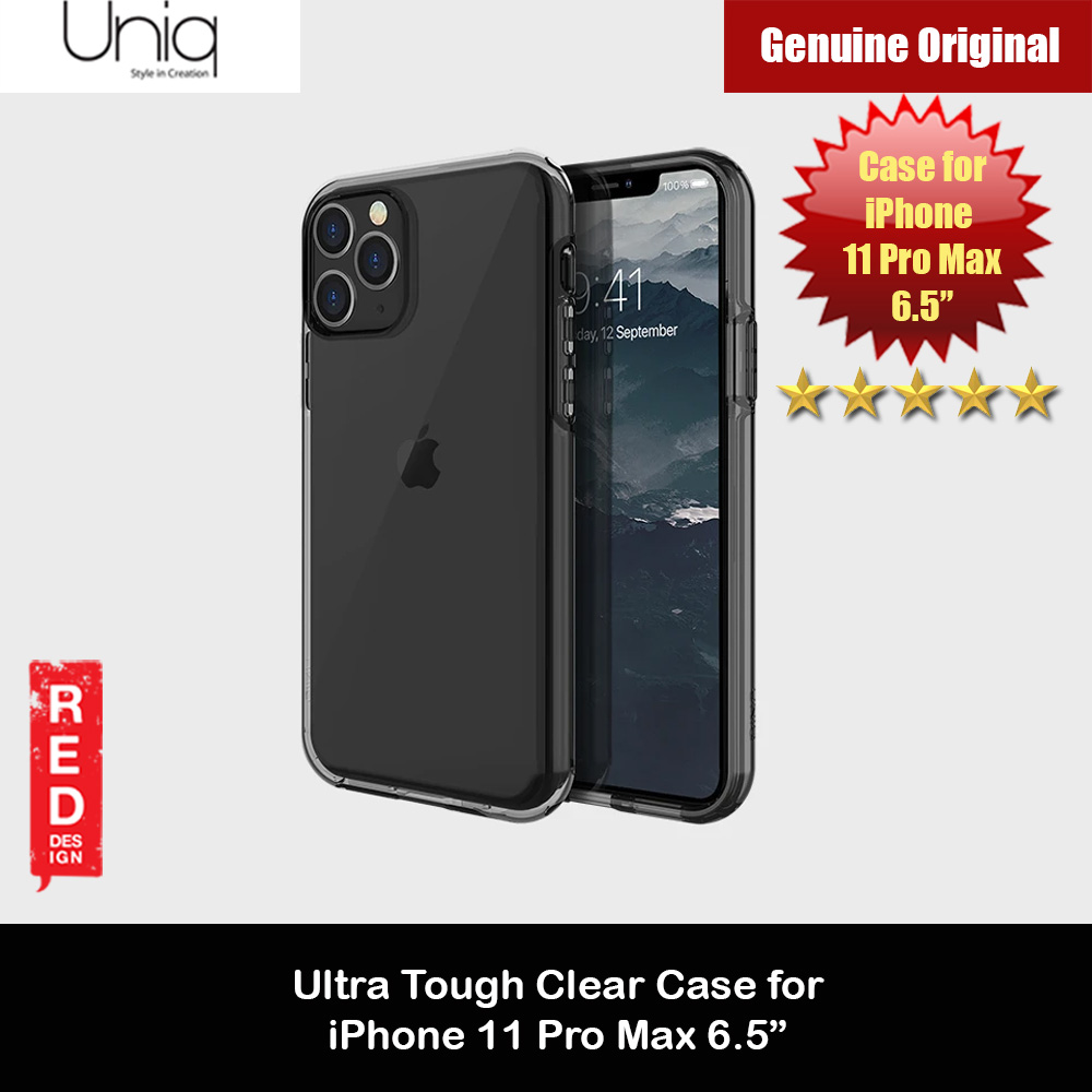 Picture of Uniq Clarion Ultra Tough Drop Protection Case for Apple iPhone 11 Pro Max 6.5  (Smoke) Apple iPhone 11 Pro 5.8- Apple iPhone 11 Pro 5.8 Cases, Apple iPhone 11 Pro 5.8 Covers, iPad Cases and a wide selection of Apple iPhone 11 Pro 5.8 Accessories in Malaysia, Sabah, Sarawak and Singapore