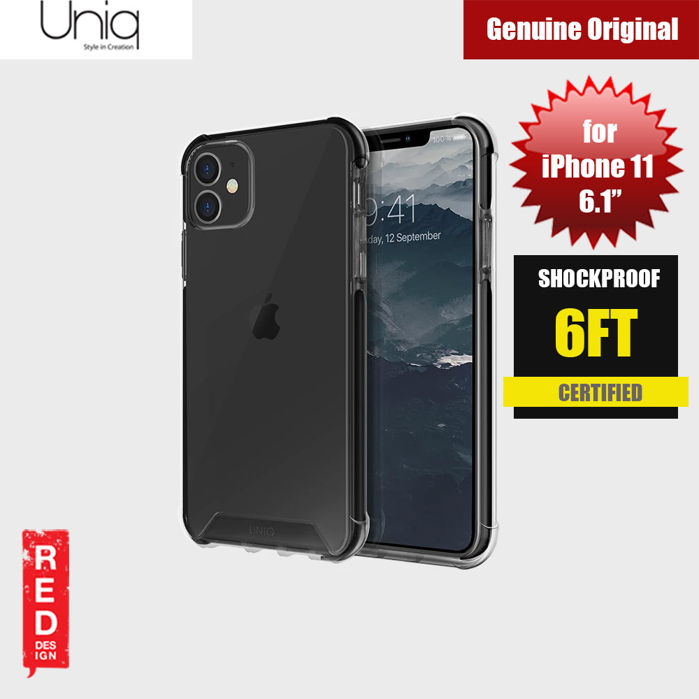 Picture of Uniq Combat Extreme Reinforced Corner Defense Protection Hybrid Case for Apple iPhone 11 6.1 (Black) Apple iPhone 11 6.1- Apple iPhone 11 6.1 Cases, Apple iPhone 11 6.1 Covers, iPad Cases and a wide selection of Apple iPhone 11 6.1 Accessories in Malaysia, Sabah, Sarawak and Singapore