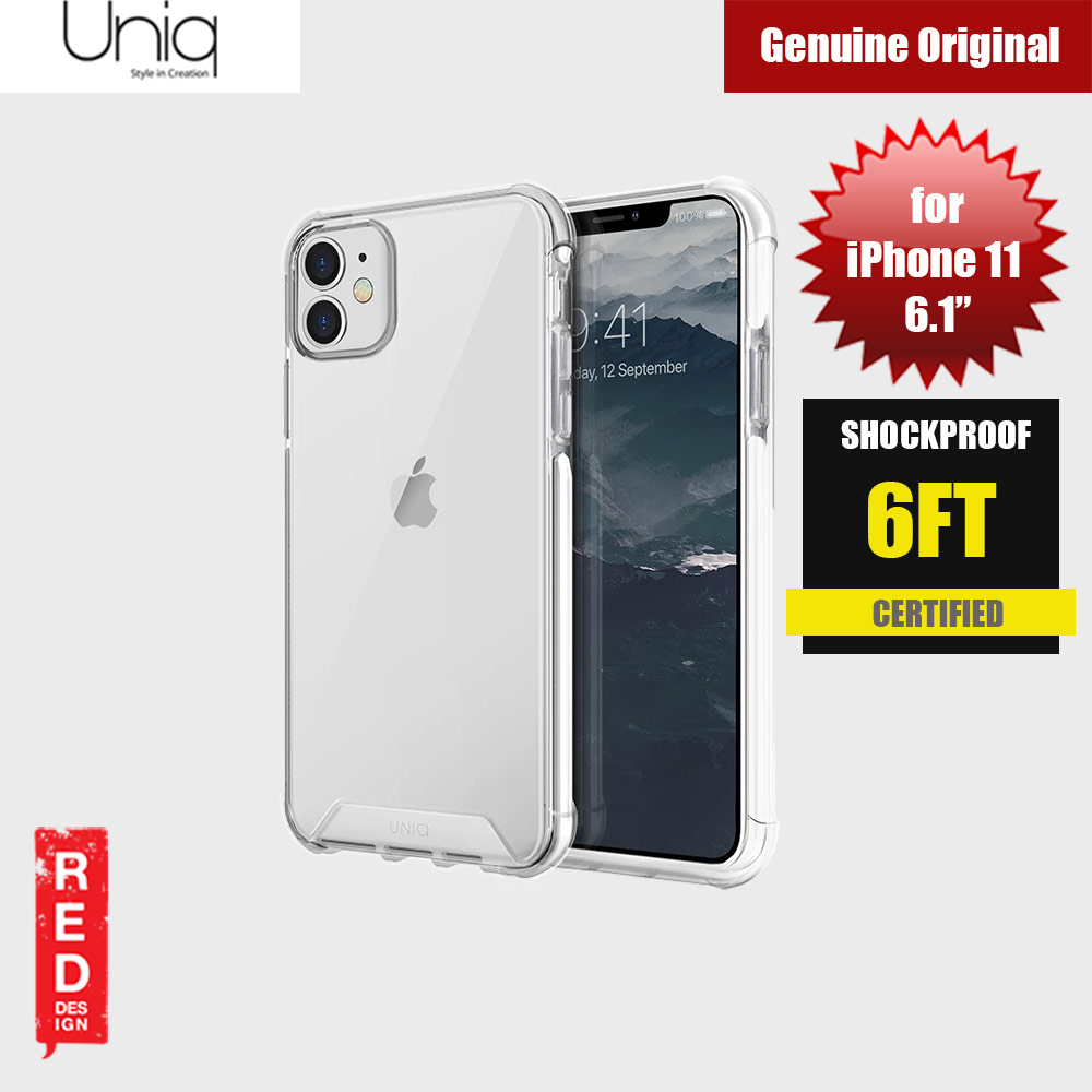 Picture of Uniq Combat Extreme Reinforced Corner Defense Protection Hybrid Case for Apple iPhone 11 6.1 (White) Apple iPhone 11 6.1- Apple iPhone 11 6.1 Cases, Apple iPhone 11 6.1 Covers, iPad Cases and a wide selection of Apple iPhone 11 6.1 Accessories in Malaysia, Sabah, Sarawak and Singapore