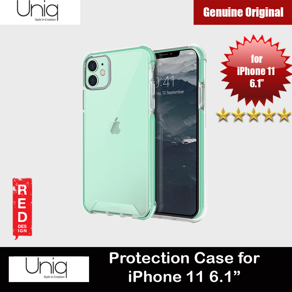 Picture of Uniq Combat Extreme Reinforced Corner Defense Protection Hybrid Case for Apple iPhone 11 6.1 (Green) Apple iPhone 11 6.1- Apple iPhone 11 6.1 Cases, Apple iPhone 11 6.1 Covers, iPad Cases and a wide selection of Apple iPhone 11 6.1 Accessories in Malaysia, Sabah, Sarawak and Singapore