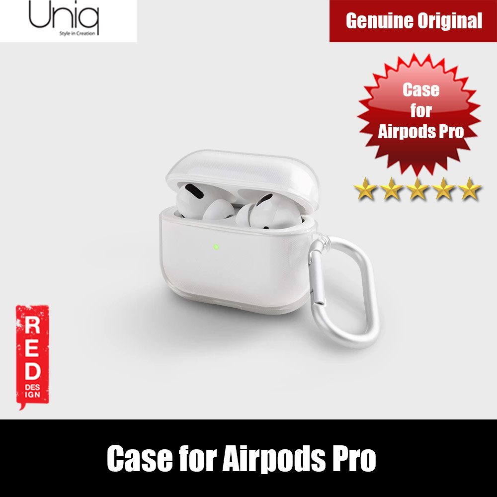 Picture of Uniq Glase Drop Protection TPU Soft Case for Airpods Pro (Clear) Apple Airpods Pro- Apple Airpods Pro Cases, Apple Airpods Pro Covers, iPad Cases and a wide selection of Apple Airpods Pro Accessories in Malaysia, Sabah, Sarawak and Singapore