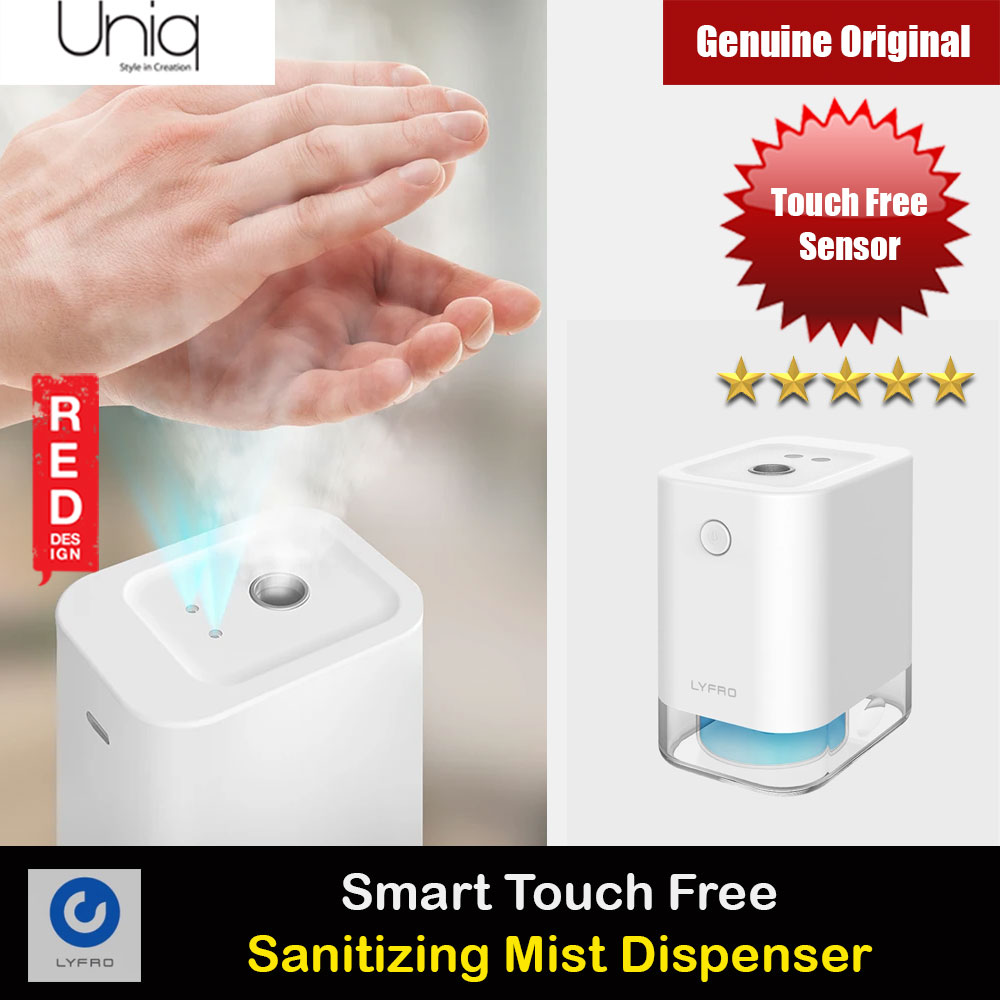 Picture of Uniq LYFRO Flow Smart Touch Free Sensor Sanitizing Mist Dispenser Red Design- Red Design Cases, Red Design Covers, iPad Cases and a wide selection of Red Design Accessories in Malaysia, Sabah, Sarawak and Singapore