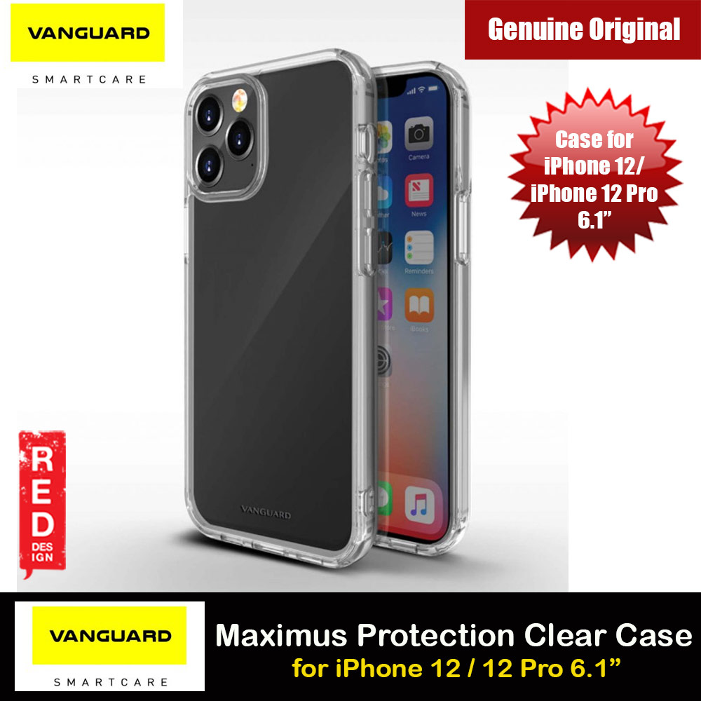 Picture of Viva Madrid Vanguard Maximus Clear Drop Protection Case for iPhone 12 iPhone 12 Pro 6.1 (Clear) Apple iPhone 12 6.1- Apple iPhone 12 6.1 Cases, Apple iPhone 12 6.1 Covers, iPad Cases and a wide selection of Apple iPhone 12 6.1 Accessories in Malaysia, Sabah, Sarawak and Singapore