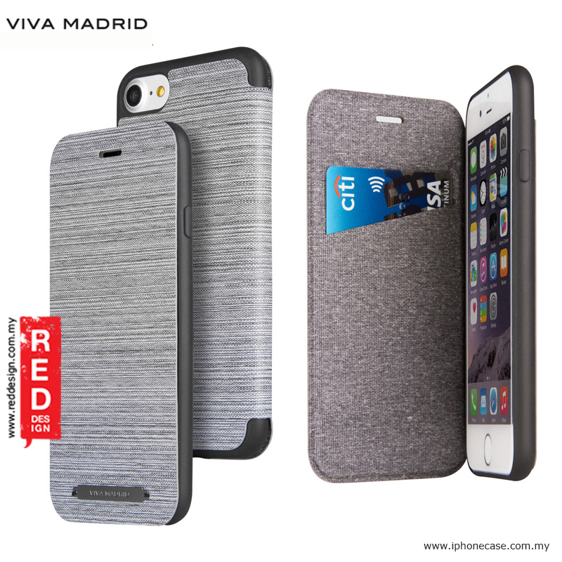 Picture of Viva Madrid Atleta Flip Cover Case for Apple iPhone 7 iPhone 8 4.7 - White Apple iPhone 8- Apple iPhone 8 Cases, Apple iPhone 8 Covers, iPad Cases and a wide selection of Apple iPhone 8 Accessories in Malaysia, Sabah, Sarawak and Singapore