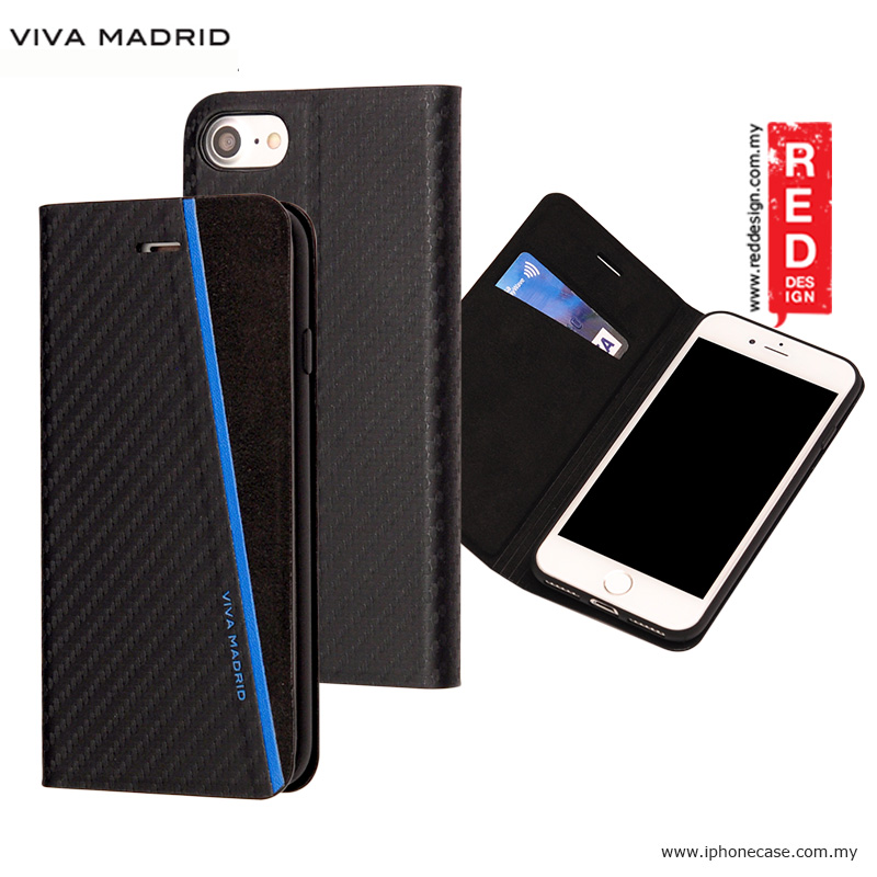 Picture of Viva Madrid Grafito Racha Flip Cover Case for Apple iPhone 7 iPhone 8 4.7 - Blue Apple iPhone 8- Apple iPhone 8 Cases, Apple iPhone 8 Covers, iPad Cases and a wide selection of Apple iPhone 8 Accessories in Malaysia, Sabah, Sarawak and Singapore