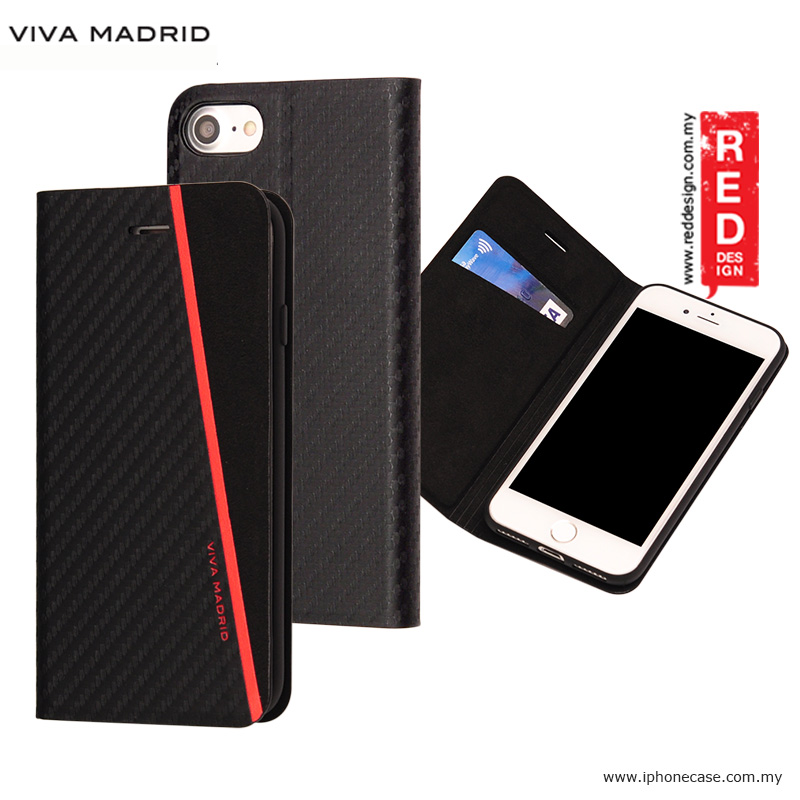 Picture of Viva Madrid Grafito Racha Flip Cover Case for Apple iPhone 7 iPhone 8 4.7 - Red Apple iPhone 8- Apple iPhone 8 Cases, Apple iPhone 8 Covers, iPad Cases and a wide selection of Apple iPhone 8 Accessories in Malaysia, Sabah, Sarawak and Singapore
