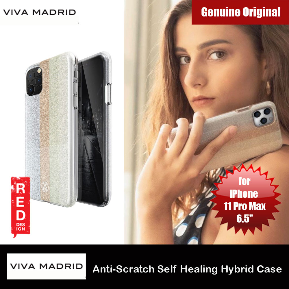 Picture of Viva Madrid Rutilar Anti Scratch Self Healing Hybrid Case for Apple iPhone 11 Pro Max 6.5(Champagne) Apple iPhone 11 Pro Max 6.5- Apple iPhone 11 Pro Max 6.5 Cases, Apple iPhone 11 Pro Max 6.5 Covers, iPad Cases and a wide selection of Apple iPhone 11 Pro Max 6.5 Accessories in Malaysia, Sabah, Sarawak and Singapore