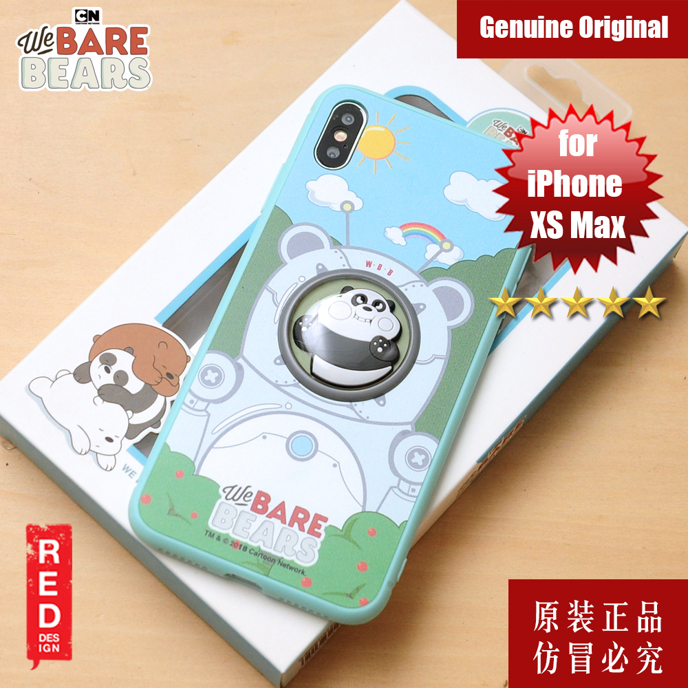 Picture of We Bare Bears Fashion Case for Apple iPhone XS Max (Panda Bear) Apple iPhone XS Max- Apple iPhone XS Max Cases, Apple iPhone XS Max Covers, iPad Cases and a wide selection of Apple iPhone XS Max Accessories in Malaysia, Sabah, Sarawak and Singapore