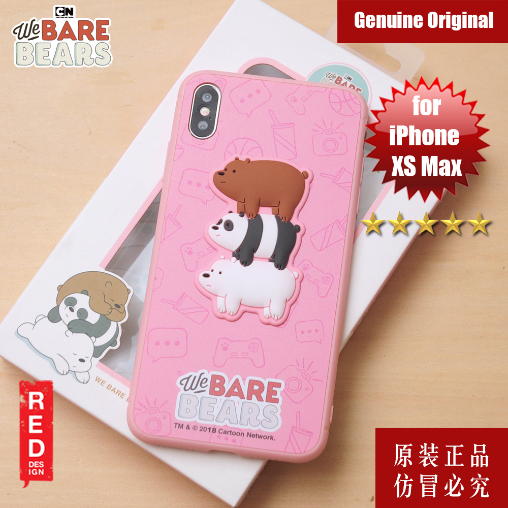 Picture of We Bare Bears Fashion Case for Apple iPhone XS Max (Pink) Apple iPhone XS Max- Apple iPhone XS Max Cases, Apple iPhone XS Max Covers, iPad Cases and a wide selection of Apple iPhone XS Max Accessories in Malaysia, Sabah, Sarawak and Singapore