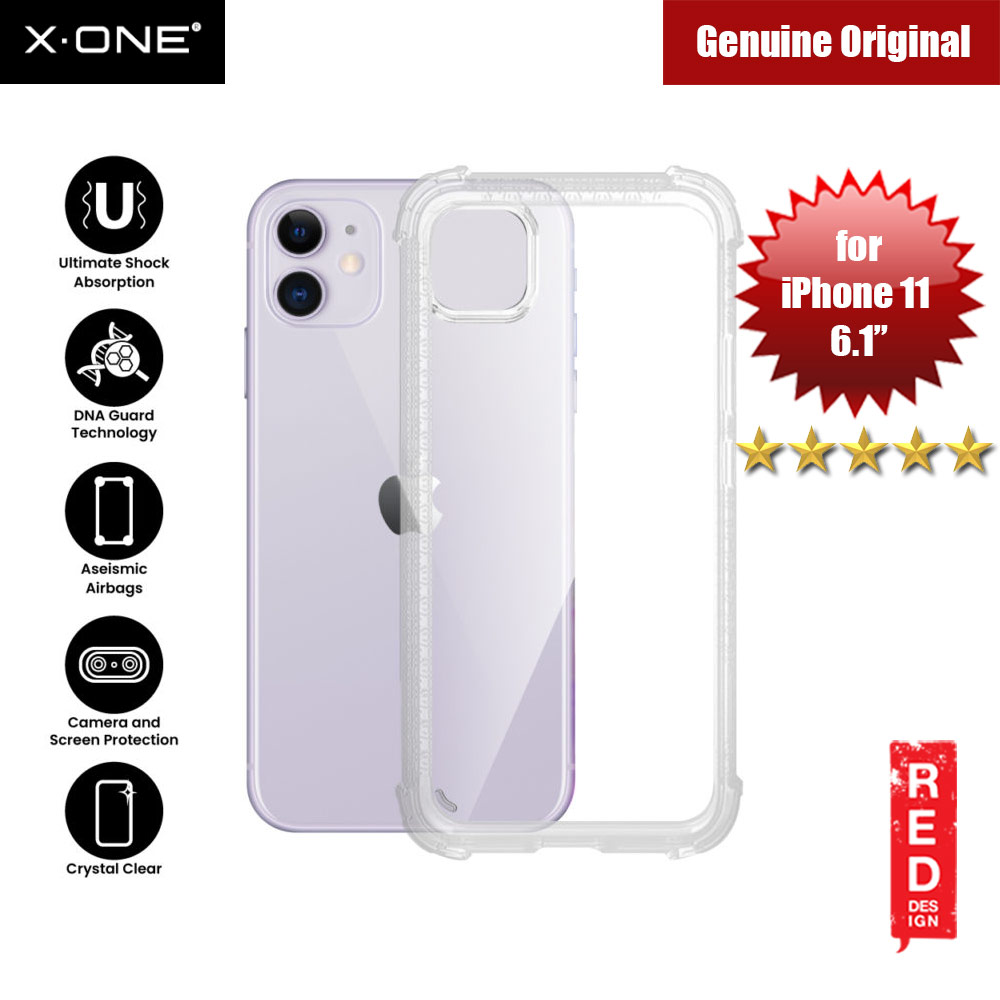 Picture of X-One X.One DropGuard Pro for Apple iPhone 11 6.1 (Clear) Apple iPhone 11 6.1- Apple iPhone 11 6.1 Cases, Apple iPhone 11 6.1 Covers, iPad Cases and a wide selection of Apple iPhone 11 6.1 Accessories in Malaysia, Sabah, Sarawak and Singapore