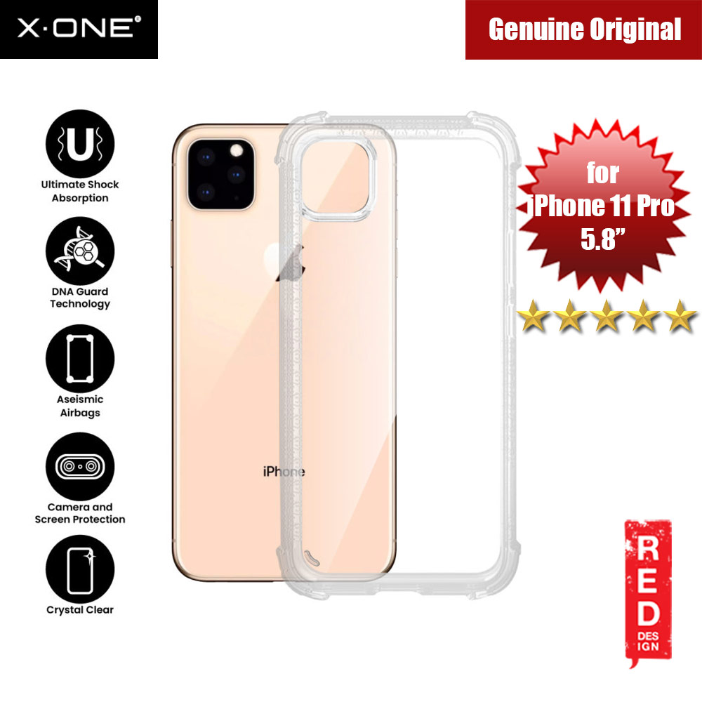 Picture of X-One X.One DropGuard Pro for Apple iPhone 11 Pro 5.8 (Clear) Apple iPhone 11 Pro 5.8- Apple iPhone 11 Pro 5.8 Cases, Apple iPhone 11 Pro 5.8 Covers, iPad Cases and a wide selection of Apple iPhone 11 Pro 5.8 Accessories in Malaysia, Sabah, Sarawak and Singapore