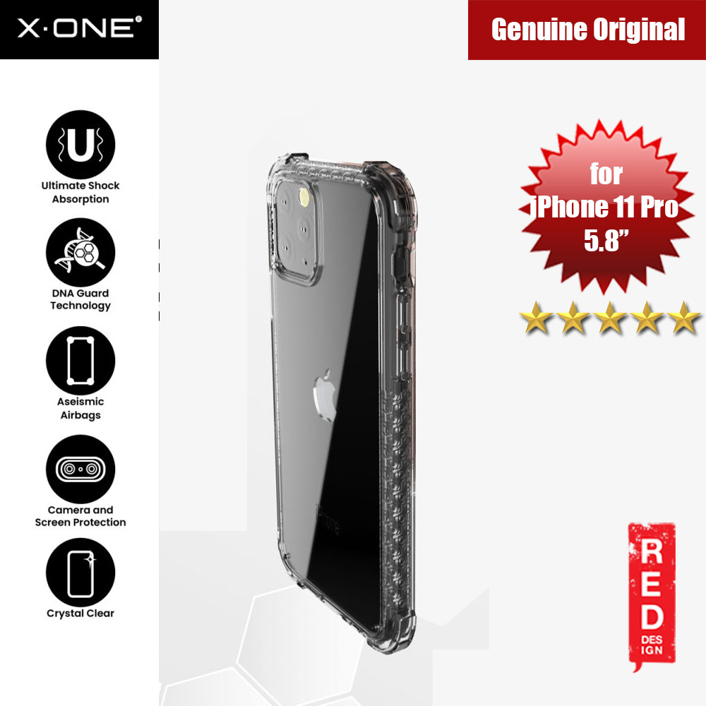 Picture of X-One X.One DropGuard Pro for Apple iPhone 11 Pro 5.8 (Tint Black) Apple iPhone 11 Pro 5.8- Apple iPhone 11 Pro 5.8 Cases, Apple iPhone 11 Pro 5.8 Covers, iPad Cases and a wide selection of Apple iPhone 11 Pro 5.8 Accessories in Malaysia, Sabah, Sarawak and Singapore