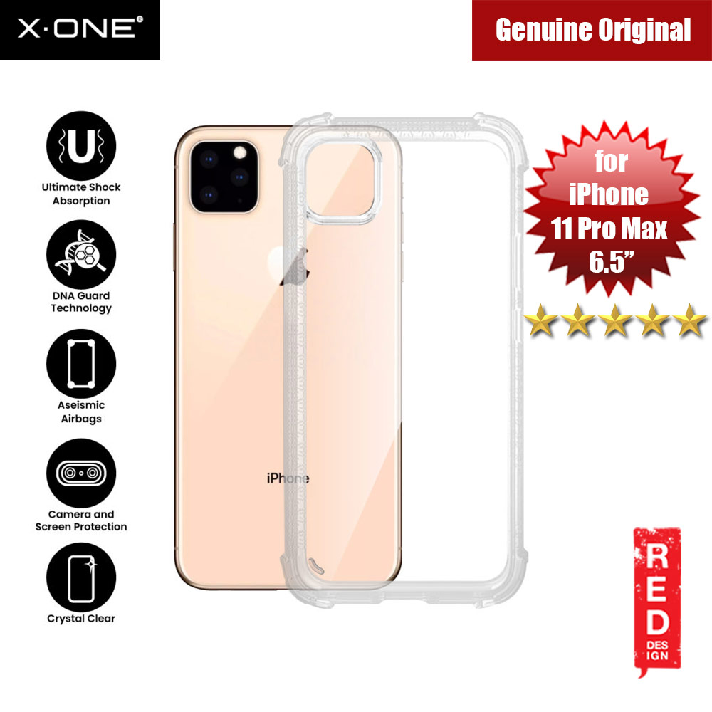 Picture of X-One X.One DropGuard Pro for Apple iPhone 11 Pro Max 6.5 (Clear) Apple iPhone 11 Pro Max 6.5- Apple iPhone 11 Pro Max 6.5 Cases, Apple iPhone 11 Pro Max 6.5 Covers, iPad Cases and a wide selection of Apple iPhone 11 Pro Max 6.5 Accessories in Malaysia, Sabah, Sarawak and Singapore