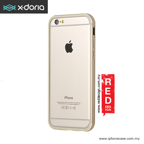 Picture of X-Doria Bumper Gear Plus One Piece TPU and Aluminum Metal Bumper for iPhone 6 4.7 - Gray Apple iPhone 6 4.7- Apple iPhone 6 4.7 Cases, Apple iPhone 6 4.7 Covers, iPad Cases and a wide selection of Apple iPhone 6 4.7 Accessories in Malaysia, Sabah, Sarawak and Singapore