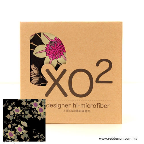 Picture of XO2 Design Hi-Microfiber for iPad Camera Laptop Eye Glasses Handkerchief - iKebano Floral Black Red Design- Red Design Cases, Red Design Covers, iPad Cases and a wide selection of Red Design Accessories in Malaysia, Sabah, Sarawak and Singapore