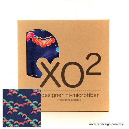 Picture of XO2 Design Hi-Microfiber for iPad Camera Laptop Eye Glasses Handkerchief - iKebano Floral Blue Red Design- Red Design Cases, Red Design Covers, iPad Cases and a wide selection of Red Design Accessories in Malaysia, Sabah, Sarawak and Singapore