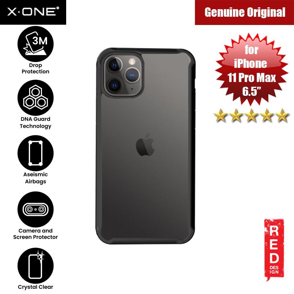 Picture of X-One X.One Drop Guard 2.0+ Impact Protection Case for Apple iPhone 11 Pro Max 6.5 Upgraded Version ( Black) Apple iPhone 11 Pro Max 6.5- Apple iPhone 11 Pro Max 6.5 Cases, Apple iPhone 11 Pro Max 6.5 Covers, iPad Cases and a wide selection of Apple iPhone 11 Pro Max 6.5 Accessories in Malaysia, Sabah, Sarawak and Singapore