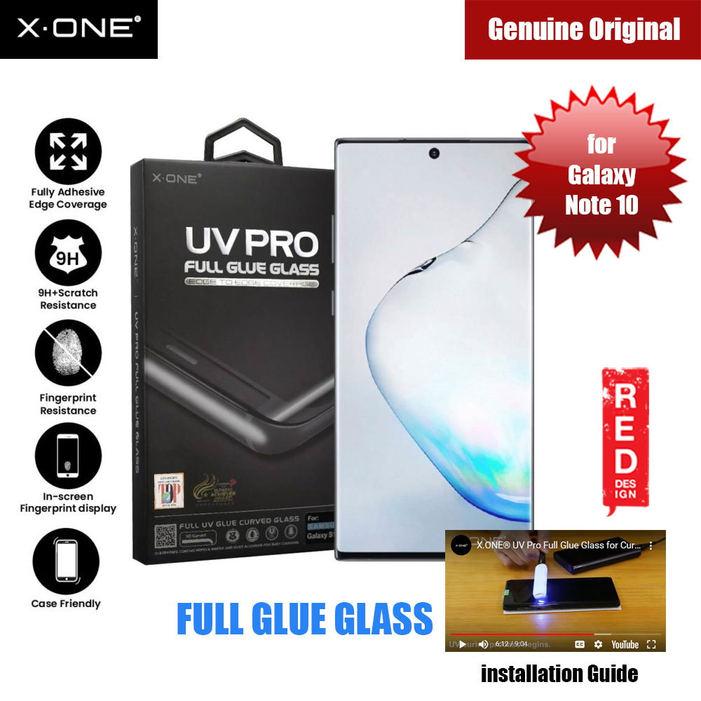 Picture of X.One UV Pro Full Glue Glass for Samsung Galaxy Note 10 (DIY apply glue) Samsung Galaxy Note 10- Samsung Galaxy Note 10 Cases, Samsung Galaxy Note 10 Covers, iPad Cases and a wide selection of Samsung Galaxy Note 10 Accessories in Malaysia, Sabah, Sarawak and Singapore