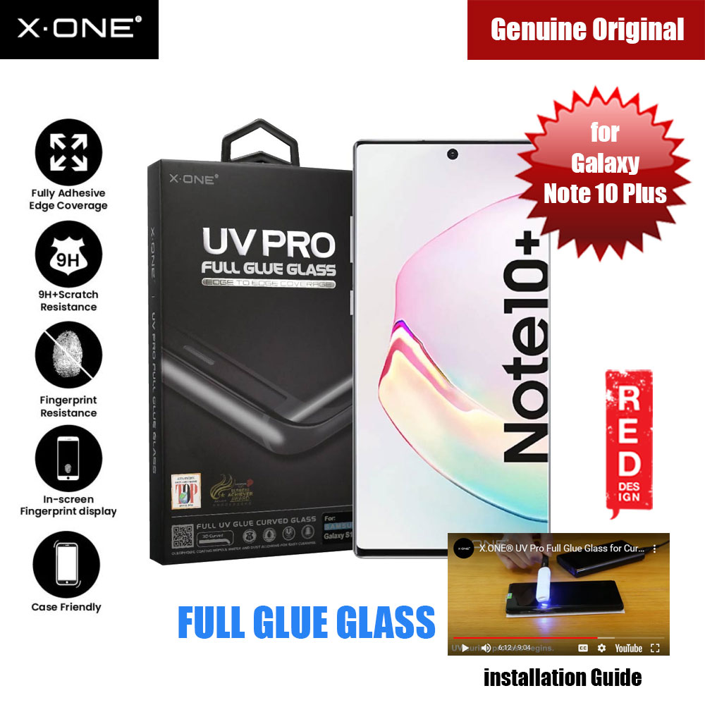 Picture of X.One UV Pro Full Glue Glass for Samsung Galaxy Note 10 Plus (DIY apply glue) Samsung Galaxy Note 10 Plus- Samsung Galaxy Note 10 Plus Cases, Samsung Galaxy Note 10 Plus Covers, iPad Cases and a wide selection of Samsung Galaxy Note 10 Plus Accessories in Malaysia, Sabah, Sarawak and Singapore