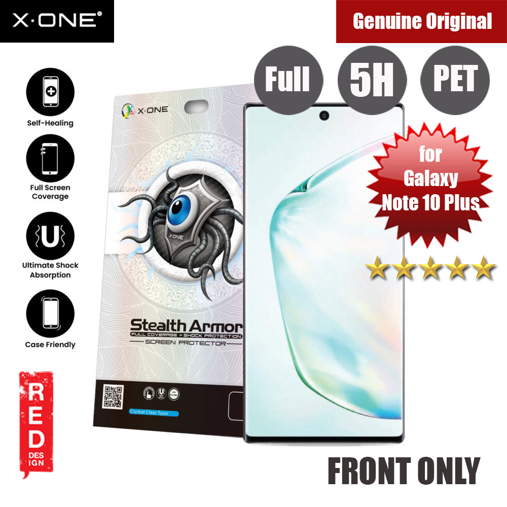 Picture of X.One Stealth Armor 2 Full Screen Coverage PET Screen Protector For Samsung Galaxy Note 10 Plus Samsung Galaxy Note 10 Plus- Samsung Galaxy Note 10 Plus Cases, Samsung Galaxy Note 10 Plus Covers, iPad Cases and a wide selection of Samsung Galaxy Note 10 Plus Accessories in Malaysia, Sabah, Sarawak and Singapore