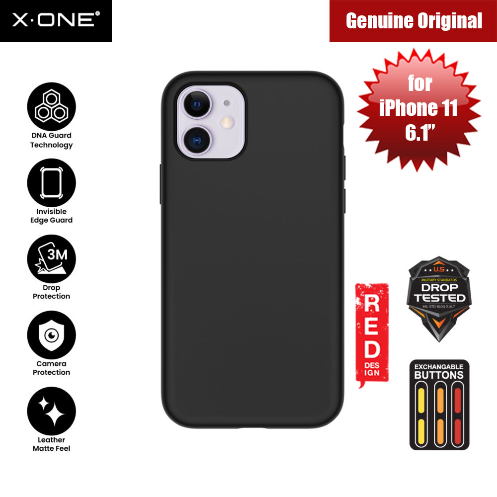 Picture of X.One Shock Dominator Impact Protection Case for Apple iPhone 11 6.1 (Black) Apple iPhone 11 6.1- Apple iPhone 11 6.1 Cases, Apple iPhone 11 6.1 Covers, iPad Cases and a wide selection of Apple iPhone 11 6.1 Accessories in Malaysia, Sabah, Sarawak and Singapore